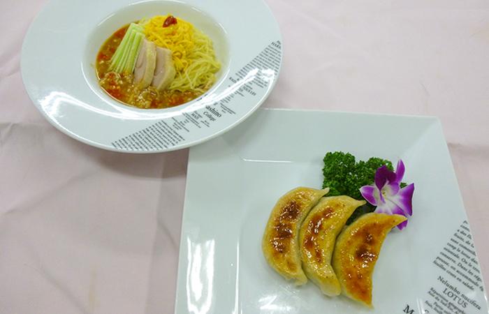 サラダ麺餃子0714P1020422